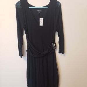 NWT black dress from Express.